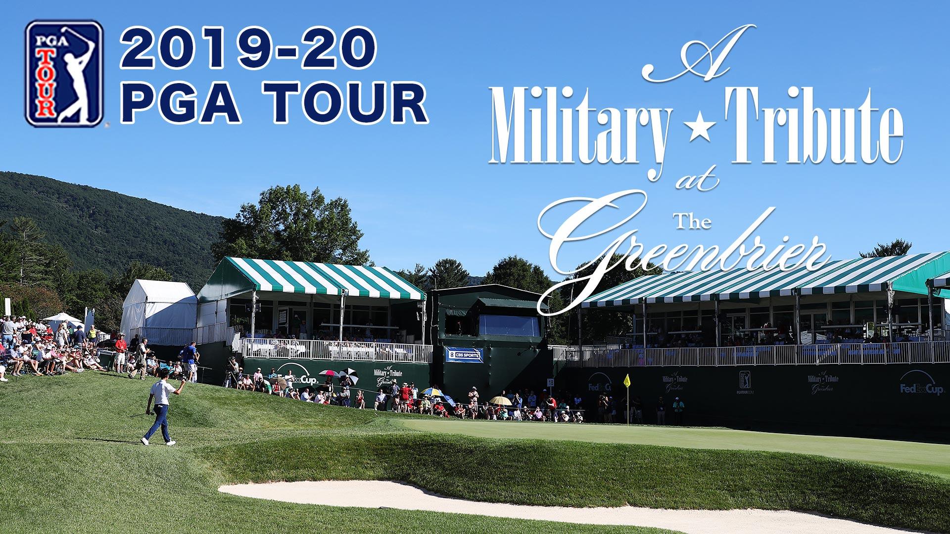 PGAツアー2019-20開幕戦「ア・ミリタリートリビュート at ザ・グリーンブライアー」最終日