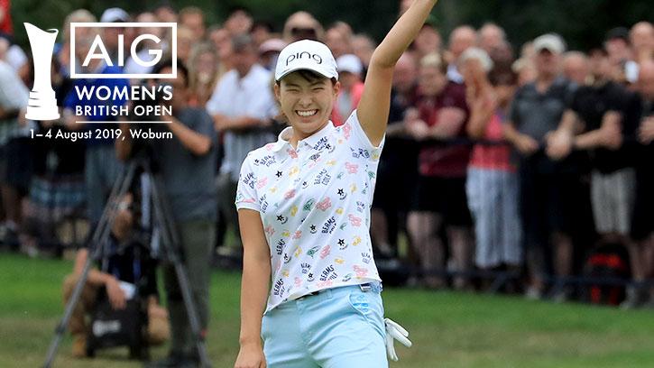 海外女子メジャー AIG全英オープンゴルフ選手権 全ラウンド生中継
